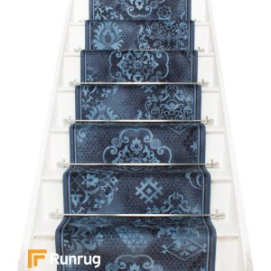 Pallas Blue Stair Runner