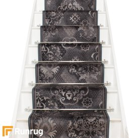 Pallas Graphite Stair Runner