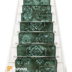 Pallas Green Stair Runner