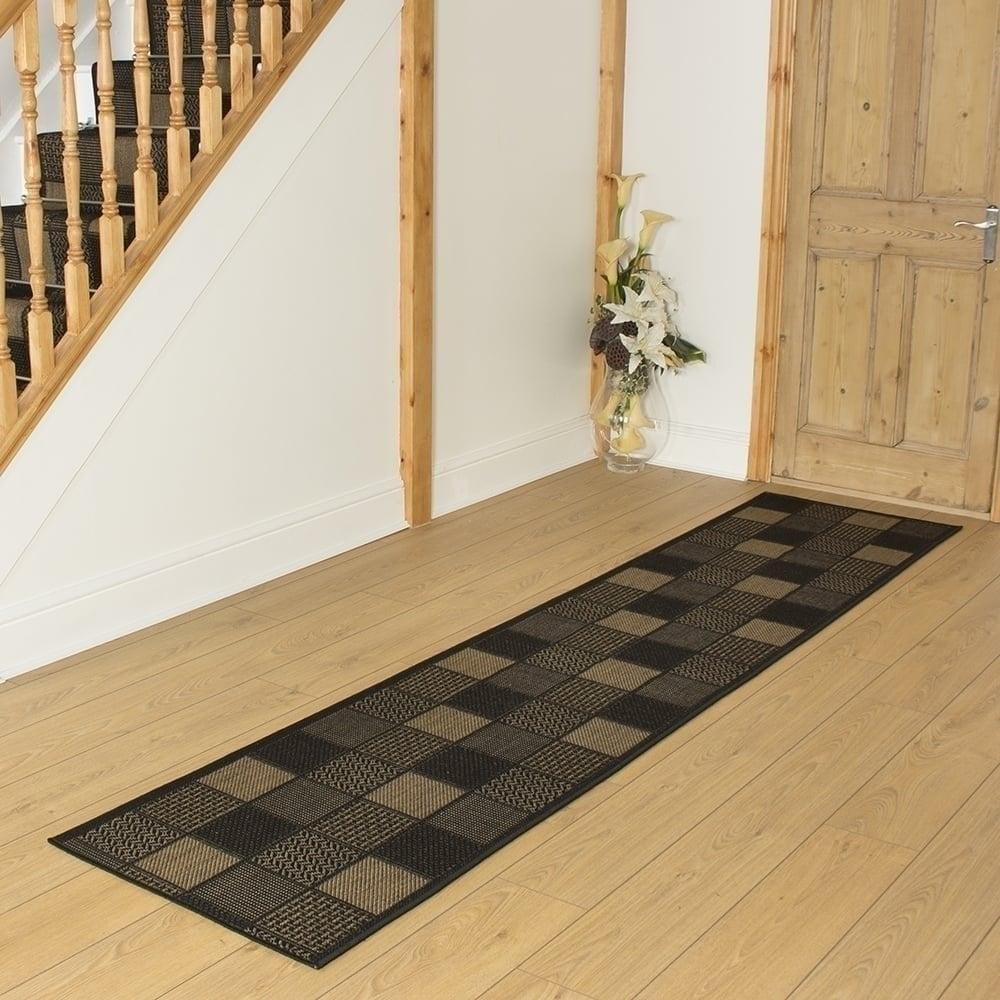 Black hallway carpet runner patch - Black carpet runners for hall ...