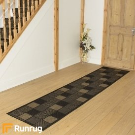 Patch Black Hall Runner
