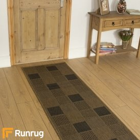 Patch Brown Hall Runner