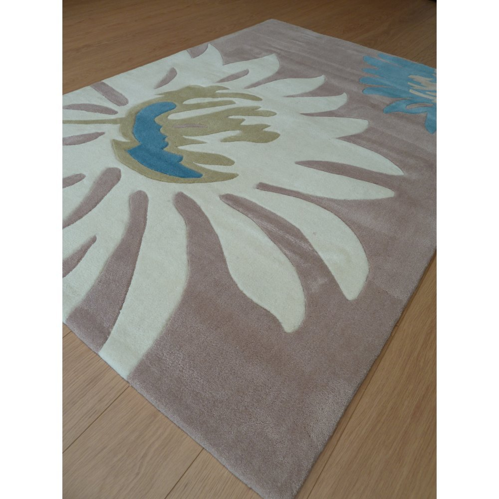 Peaks Hayfield Beige Teal Rug Only Available At Carpet