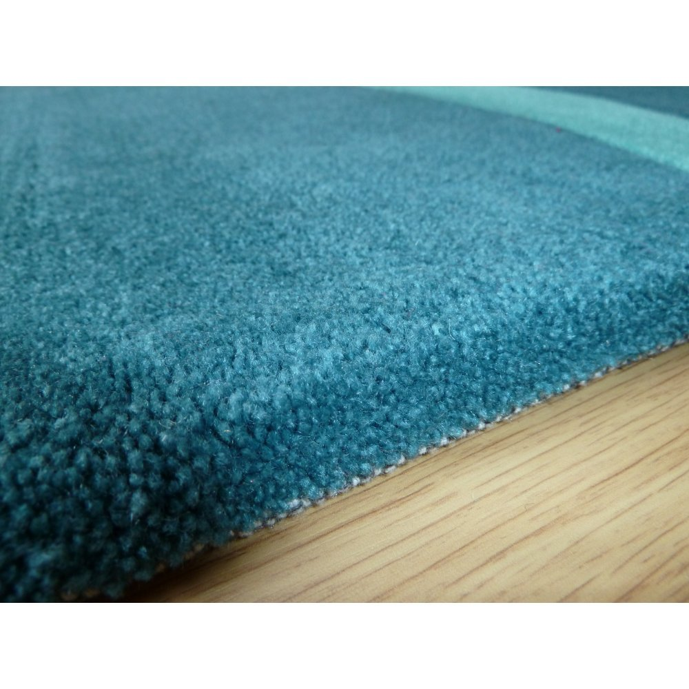 Peaks Matlock Teal Rug Only Available At Carpet Runners Uk