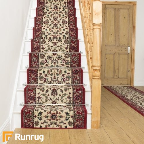 Persian Cream Stair Runner