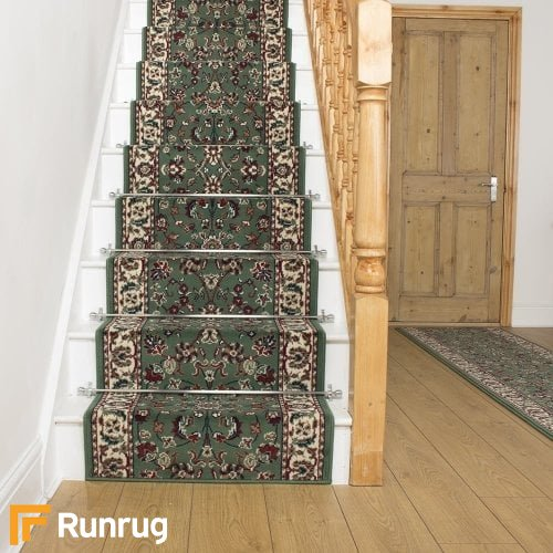 Persian Light Green Stair Runner