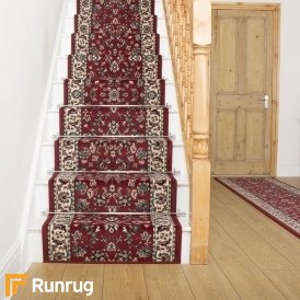 Persian Red Traditional Stair Runner