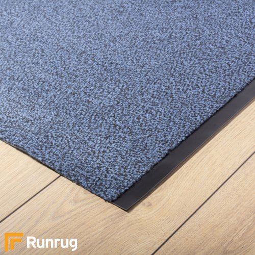 Peru - Blue Commercial Barrier Mat Runner Hall Runner
