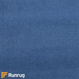 Plain - Jeans Blue (PL3) Matching Landing Carpet