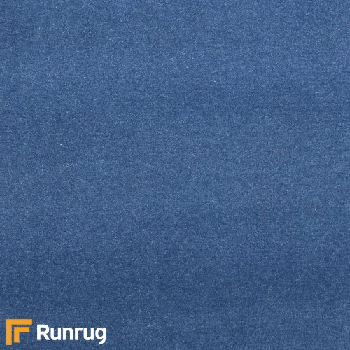 Plain - Jeans Blue (PL3) Matching Landing Carpet Stair Runner