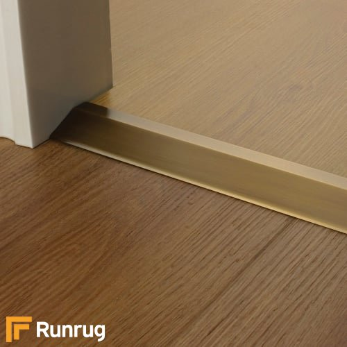 Premier Trim Ramp 20mm Antique Brass