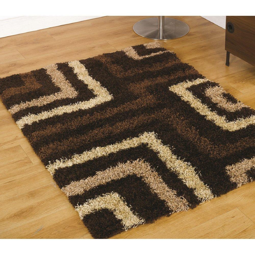 Brown Nordic Tides Rug Carpet Runners Uk