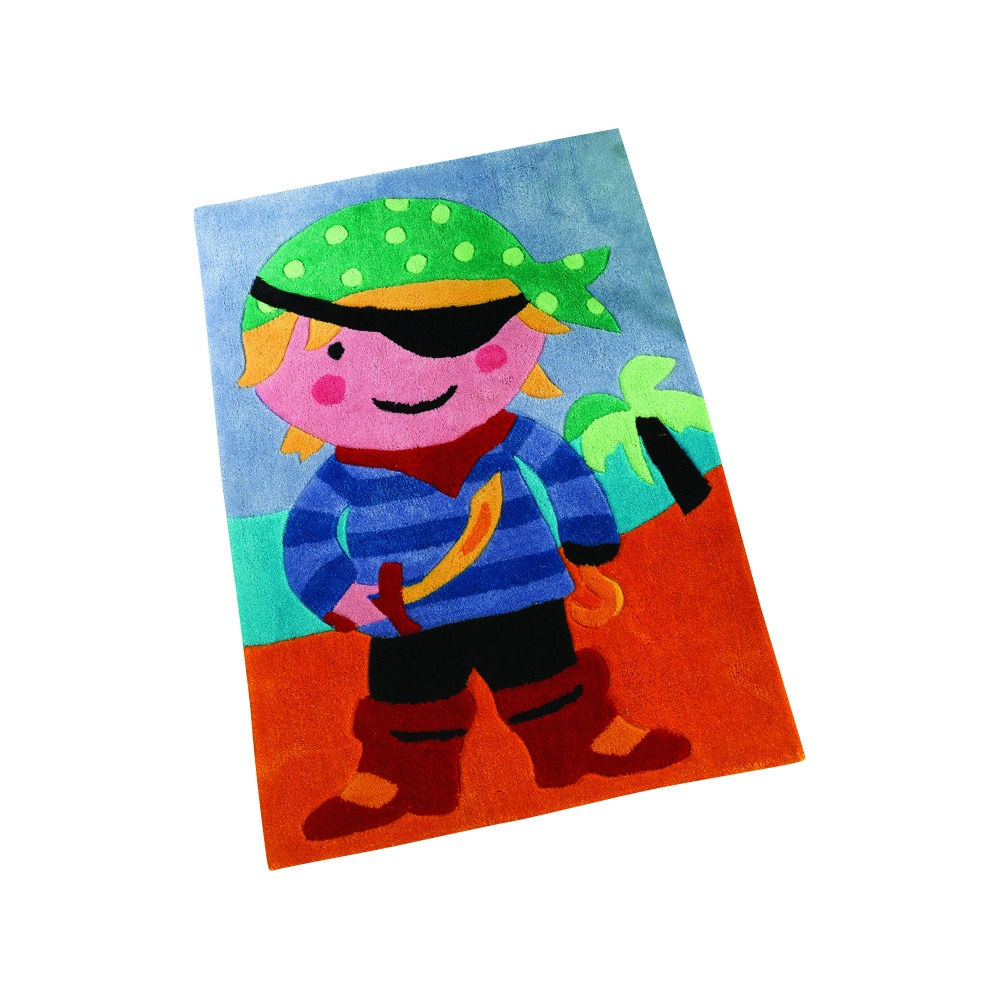 Pirate Multicolouredcoloured Children's Rug