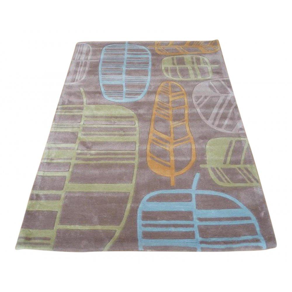Blue Amp Green Leaf Natural Rug Carpet Runners Uk