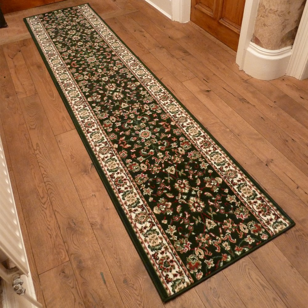 Dark Green Hall Runner Rug Persian Carpet Runners Uk