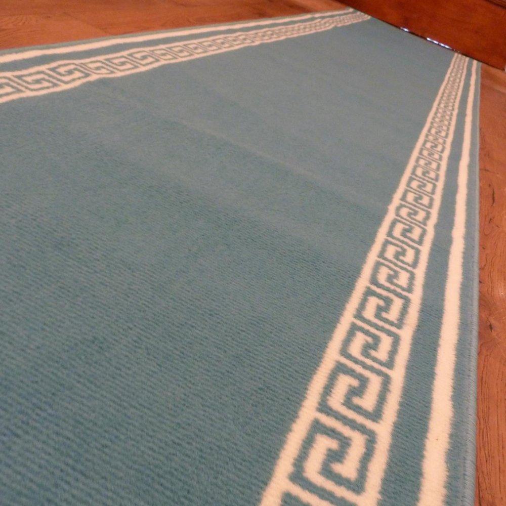 Light Blue Hall Runner Rug Key Carpet Runners Uk