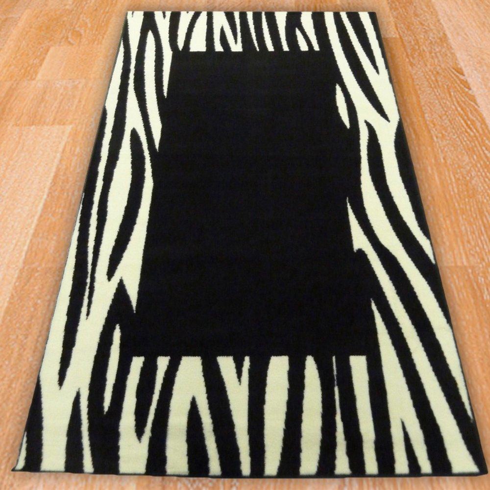 Zebra Border Style Rug