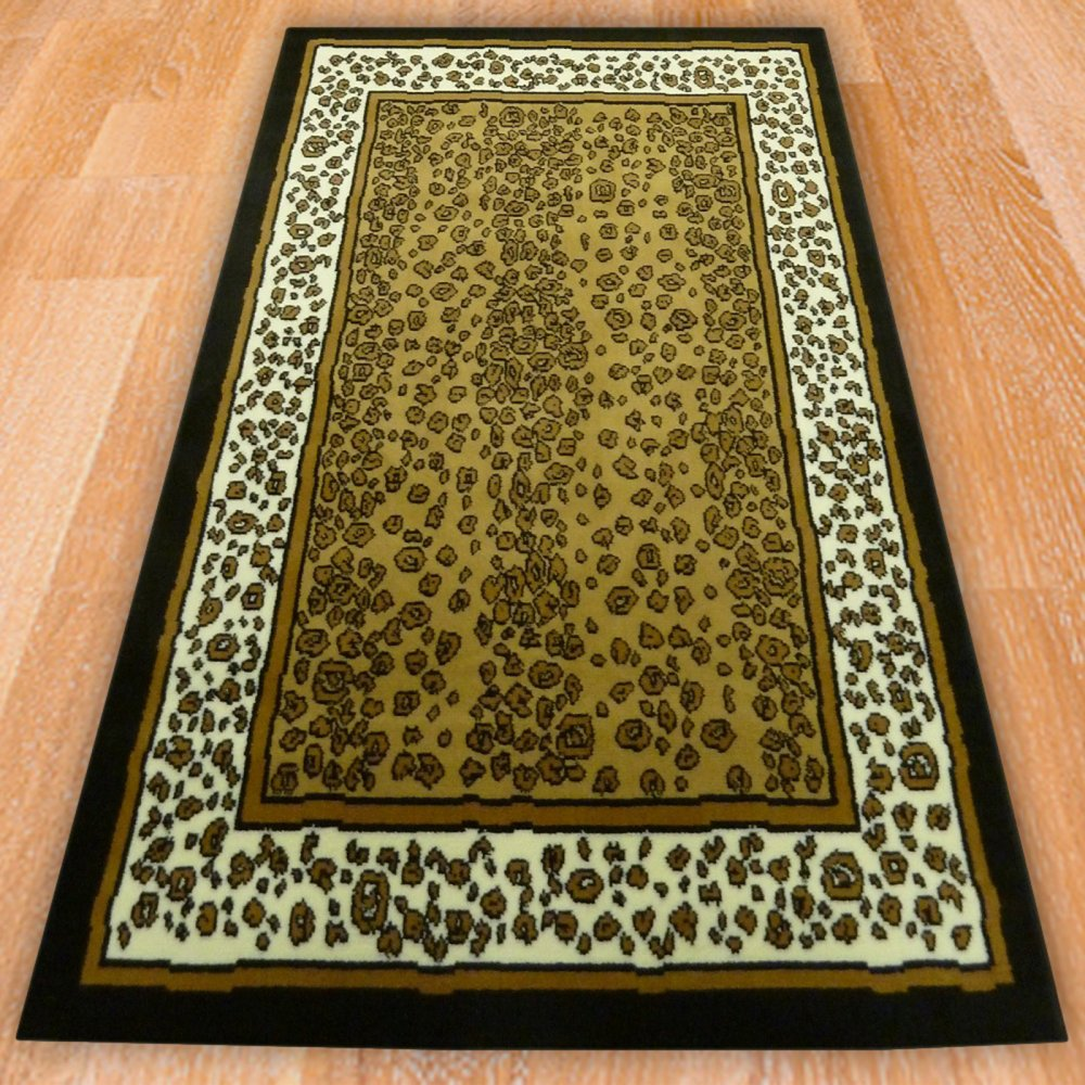 Leopard Themed Rug