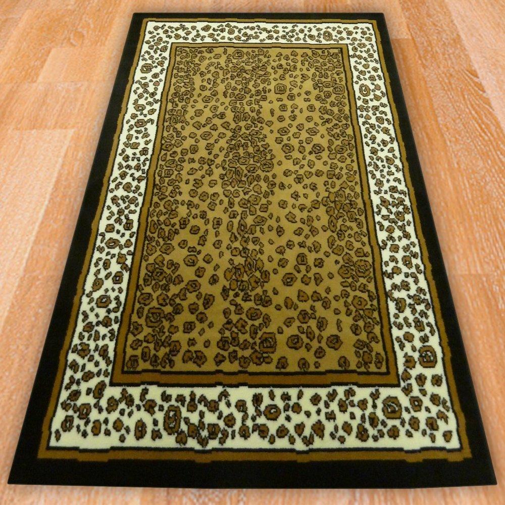 Leopard Themed Rug Carpet Runners Uk
