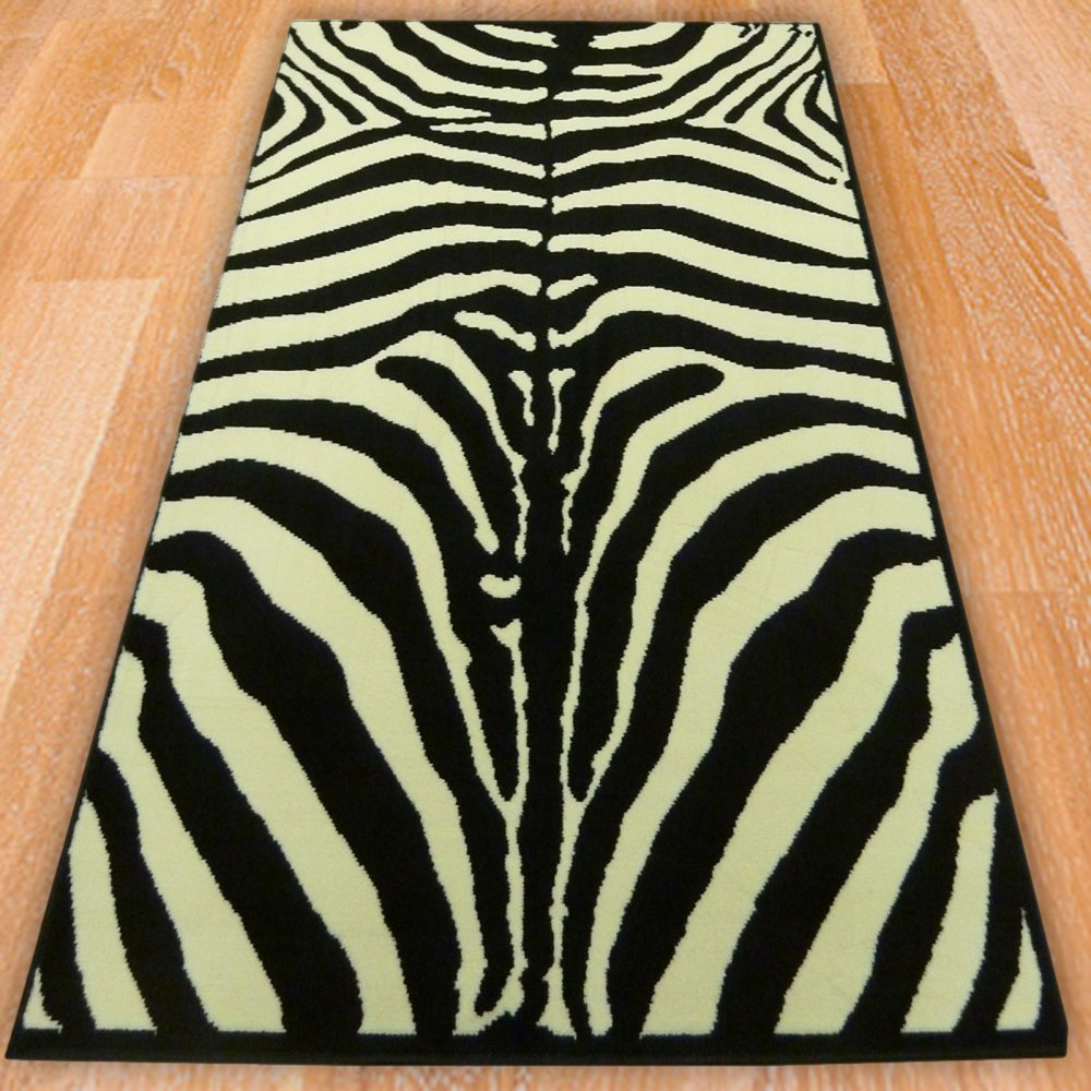 Zebra Full Print Style Rug