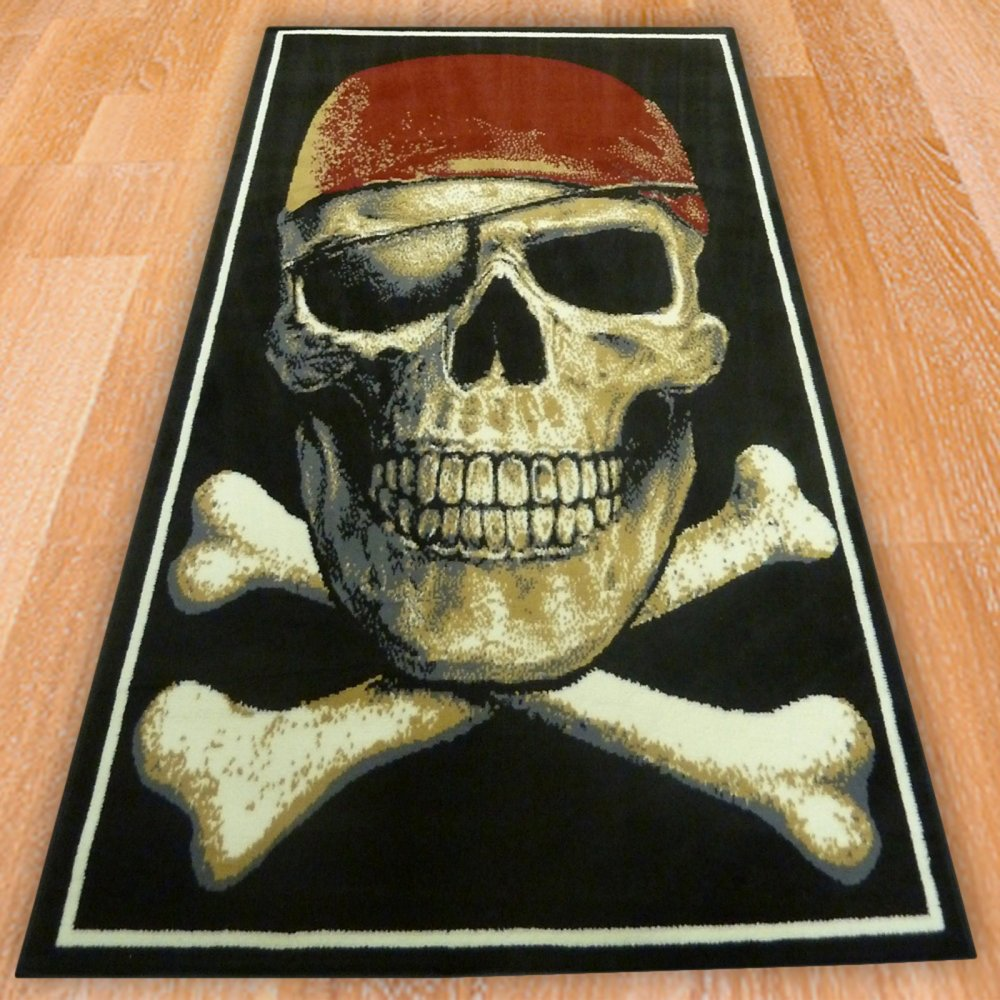 Pirate Skull Children S Rug Carpet Runners Uk
