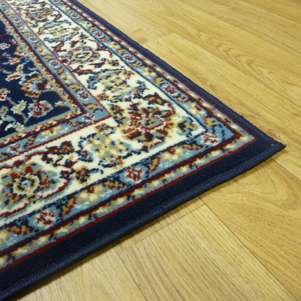 Oriental Rugs Out Of Style: Blue Persian Style Rug