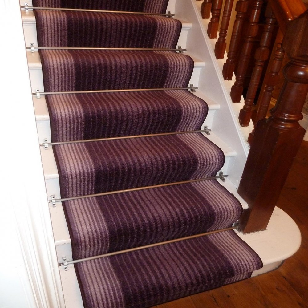 Purple Stair Carpet Runner Capitol Carpet Runners Uk