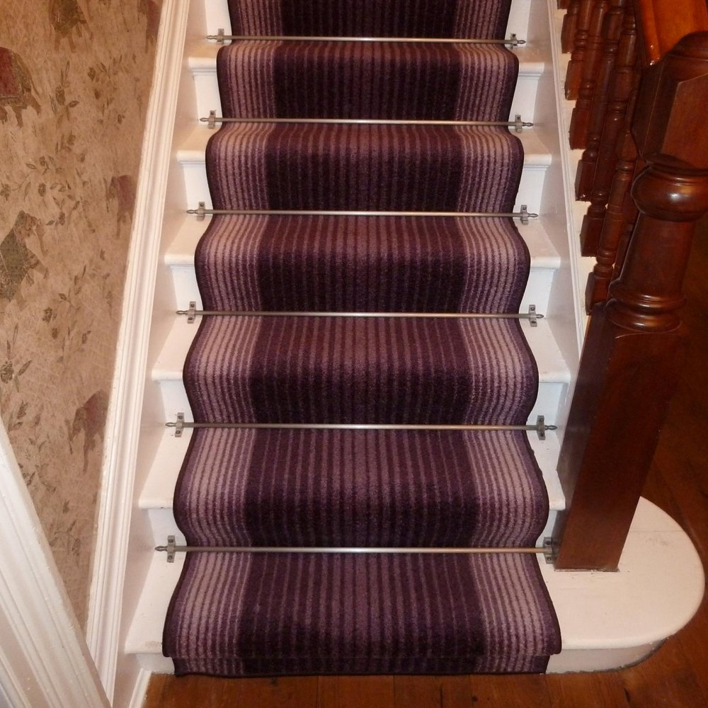 Purple Stair Carpet Runner Capitol Carpet Runners Uk