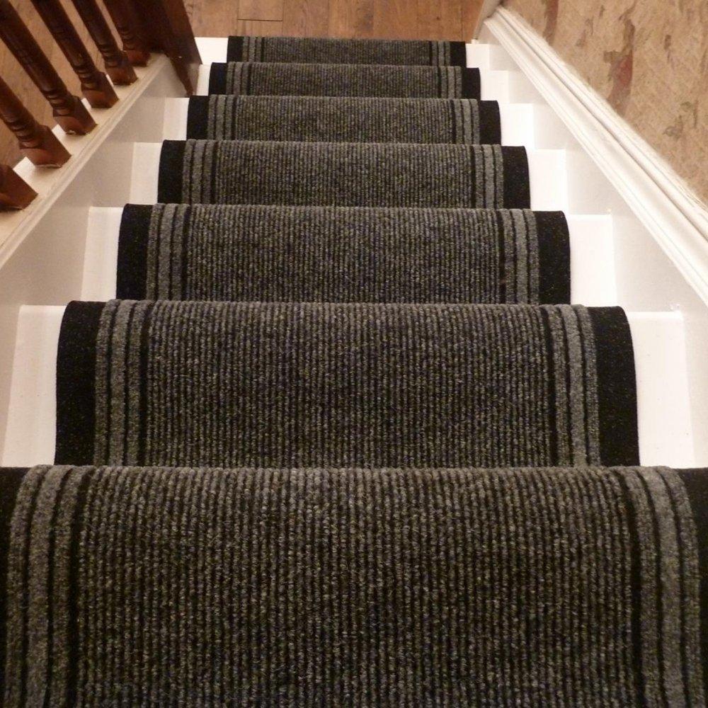 Grey Stair Runner Inca Carpet Runners Uk