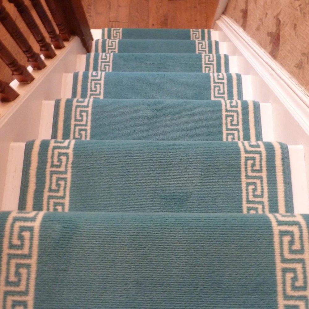 Light Blue Stair Carpet Runner Key Carpet Runners Uk