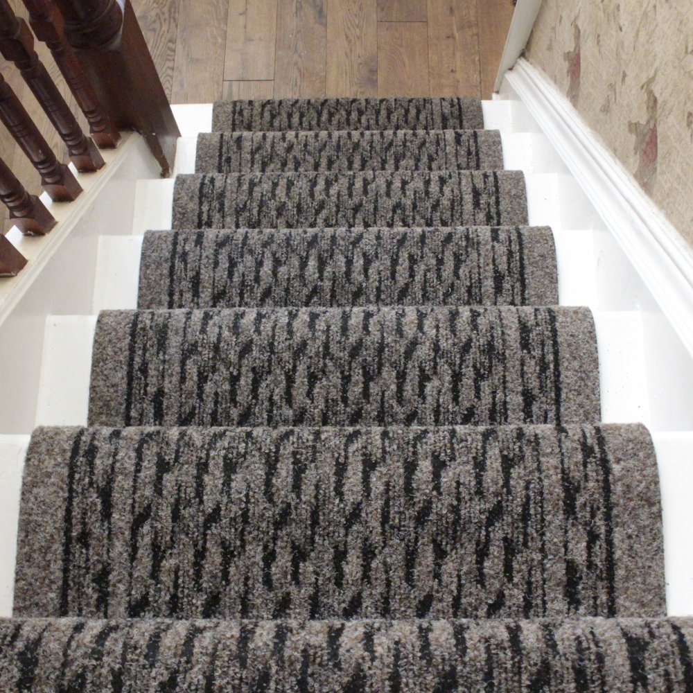 Grey Stair Runner Rug Rumba Carpet Runners Uk