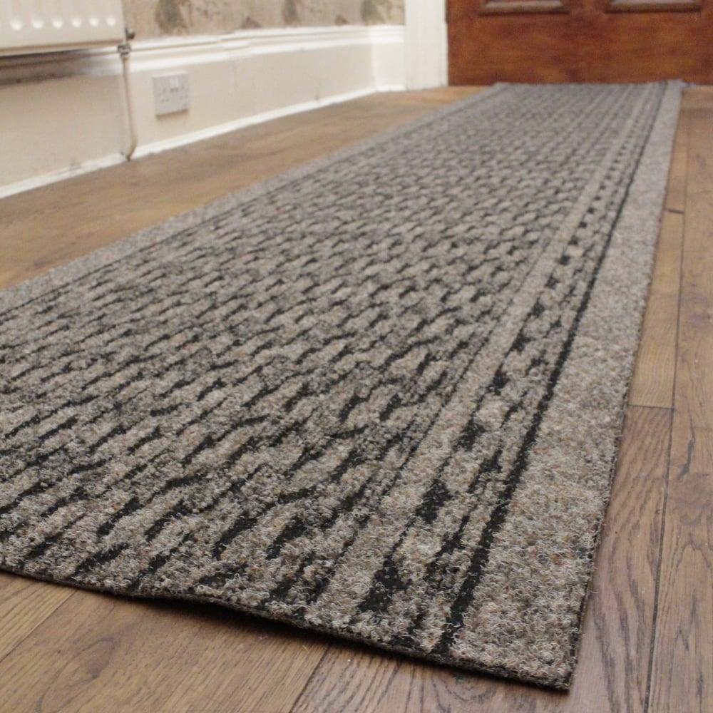 Light brown hallway carpet runner rumba - Industrial carpet runners ...