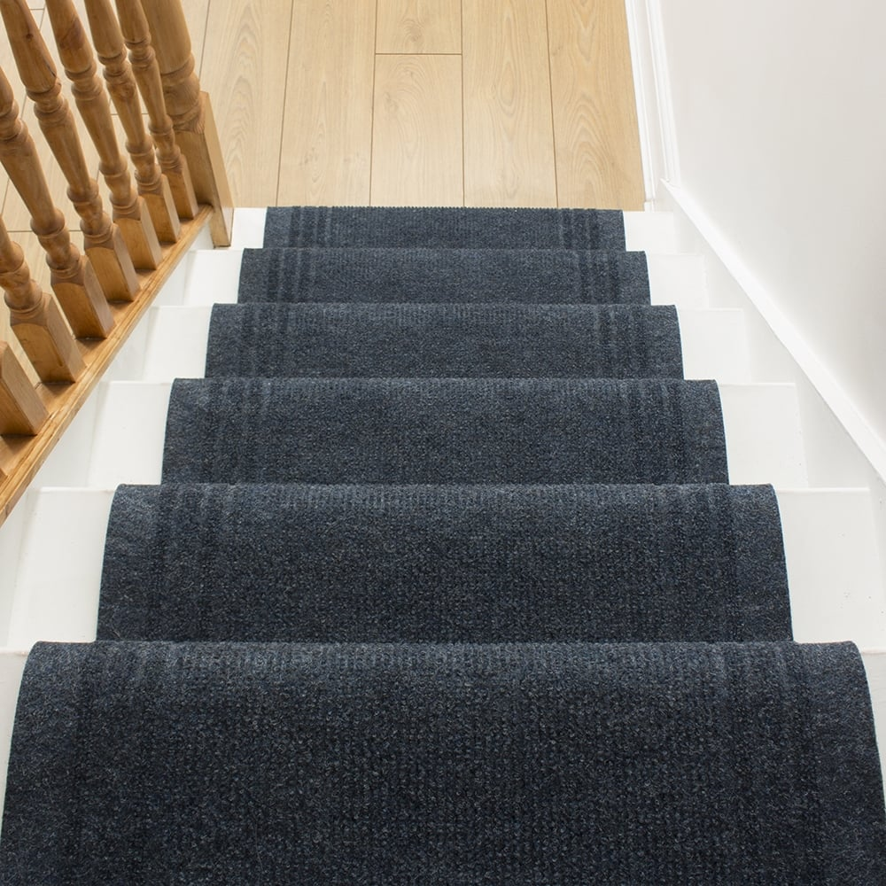 Ringo Blue Stair Carpet Runner From Carpet Runners Uk Uk