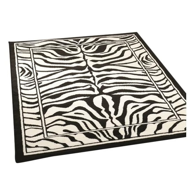 Black & White Zebra Rug