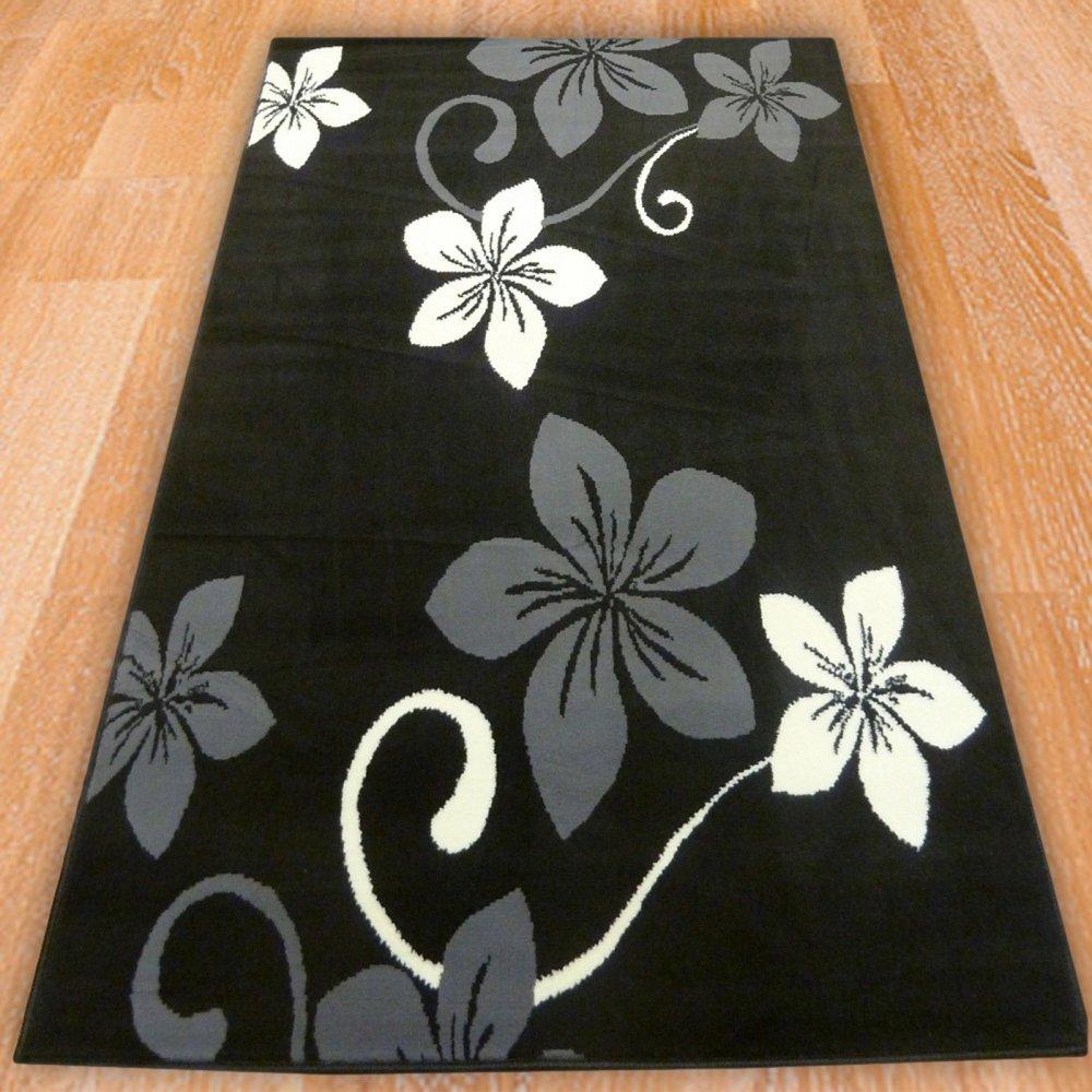 Black Floral Rugs Roselawnlutheran