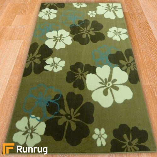 Range 131 - Beige Small Flowers Rug