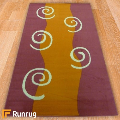 Range 21 - Swirl Bedroom Rug