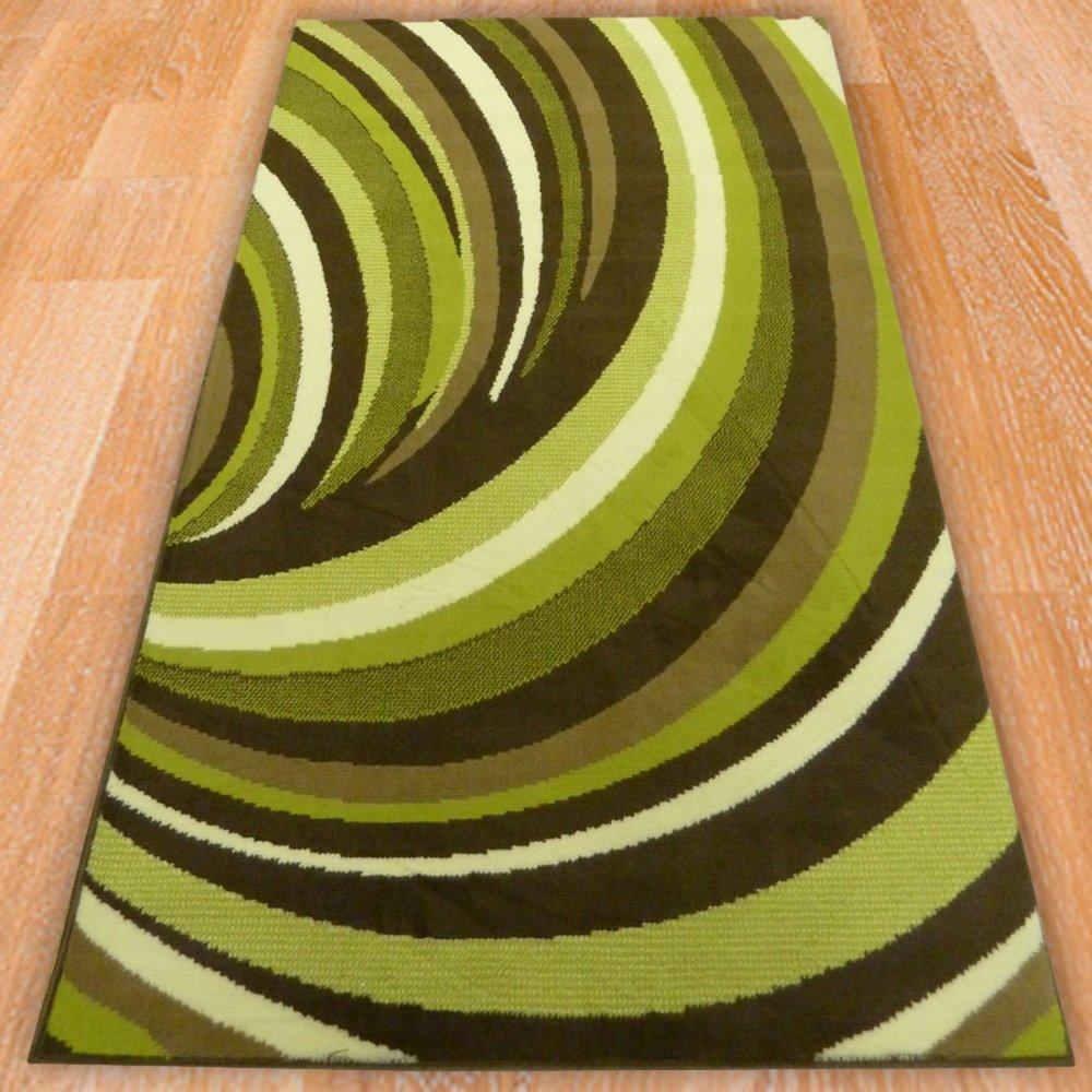Green Swirl Children S Rug Carpet Runners Uk