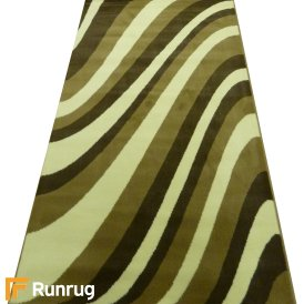 Range 30 - Green Wave Style Rug