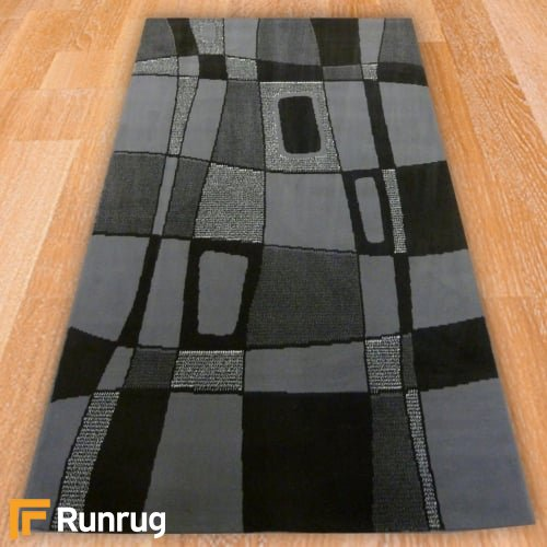 Range 75 - Grey Abstract Style Rug