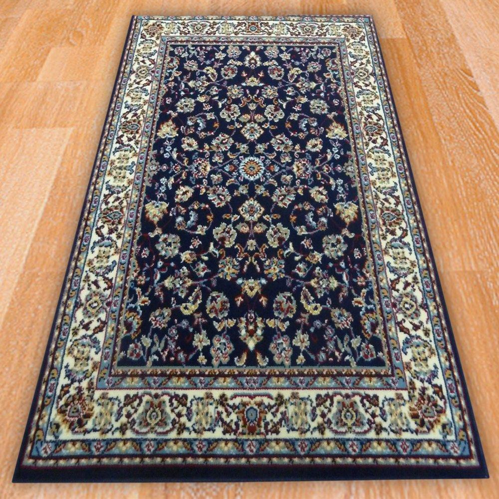 Blue Persian Style Rug Carpet Runners Uk