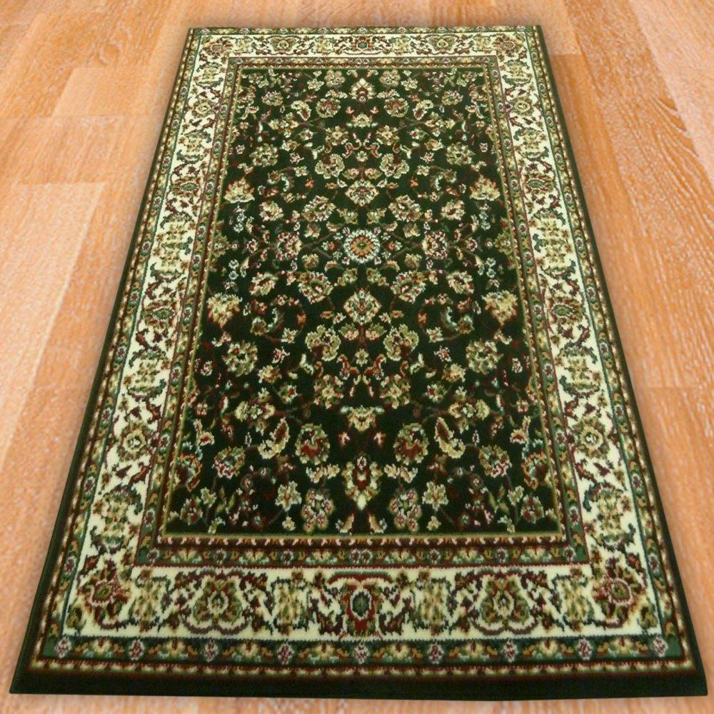 Green Persian Style Rug Carpet Runners Uk