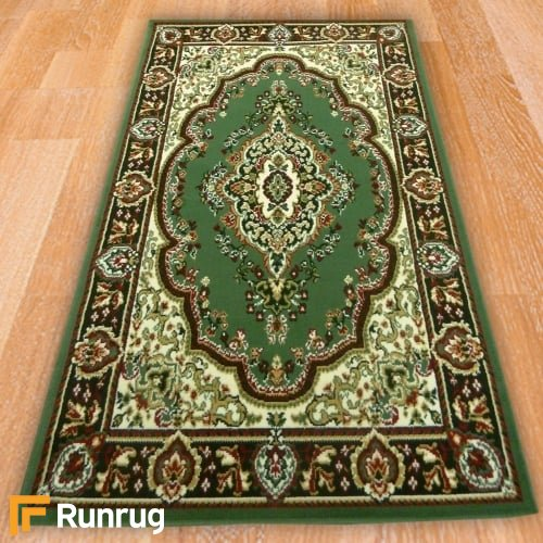 Range 96 - Classic Traditional Green Rug