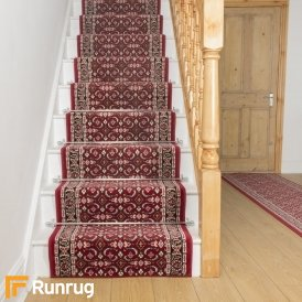 Regal Red Stair Runner
