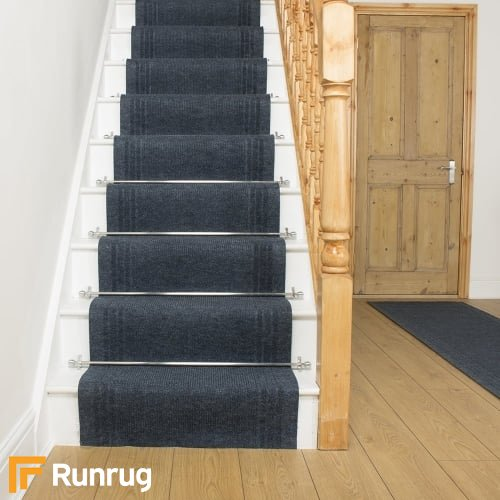 Ringo - Blue Stair Carpet Runner Stair Runner
