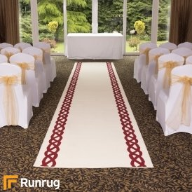 Rope - Cream Wedding Aisle Carpet Runner