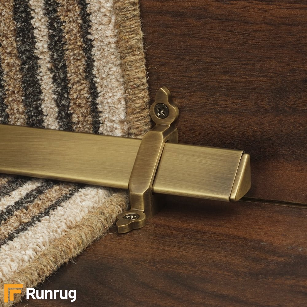 Royal Antique Brass Vue Stair Rod Bar