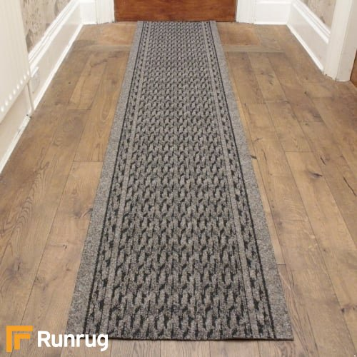 Rumba Light Brown Hall Runner