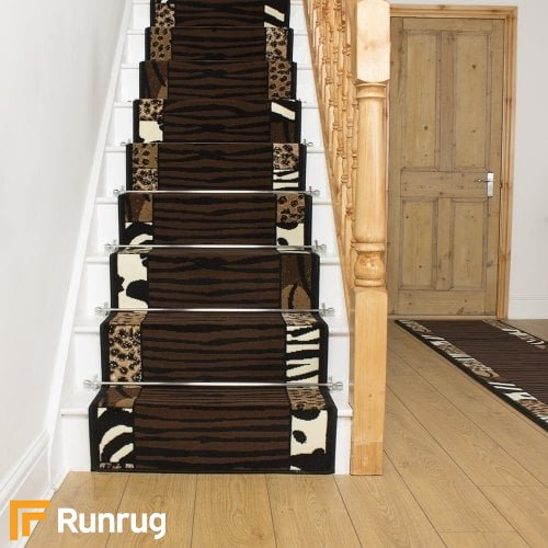 Safari Brown Stair Runner