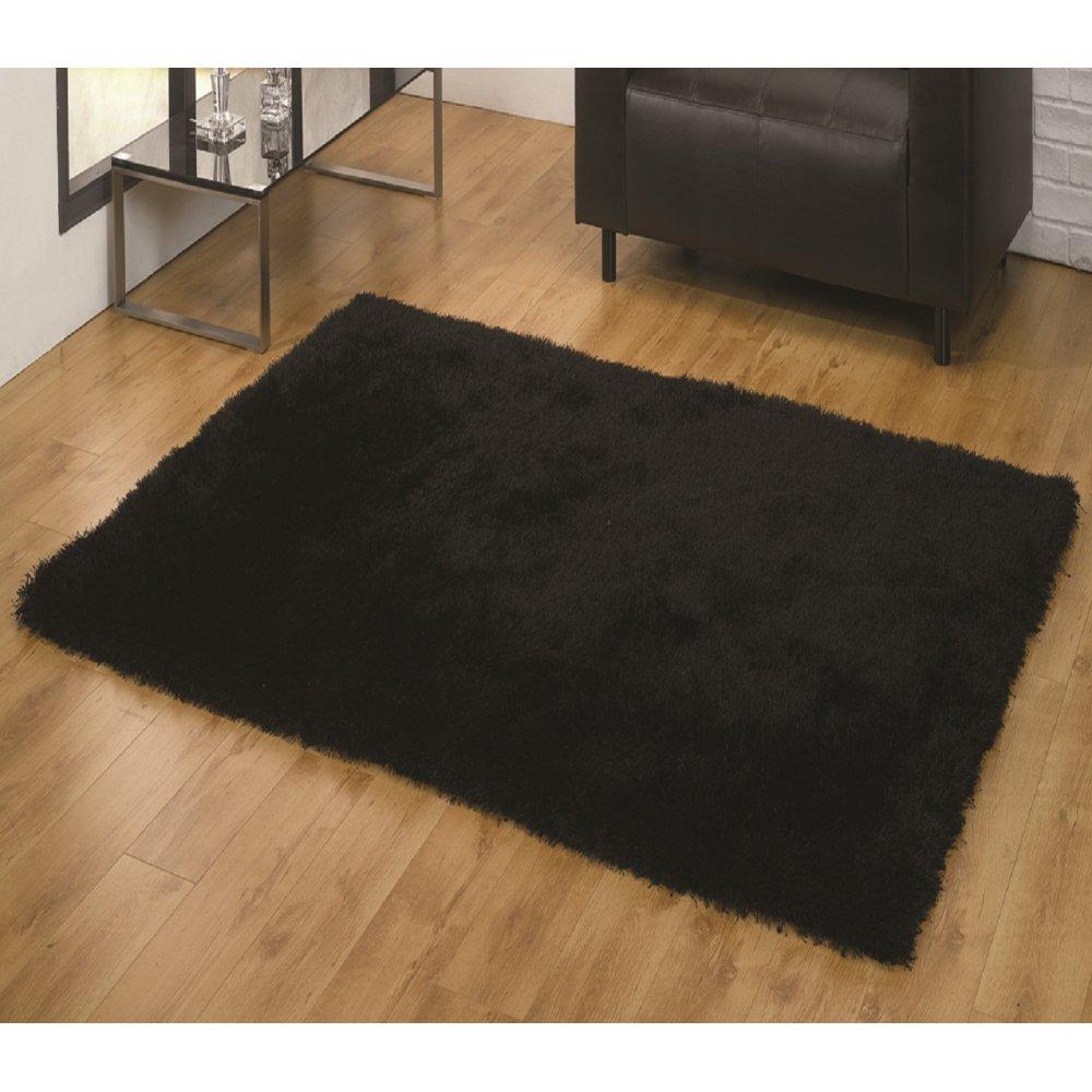 rectangle p sheep fursource sculpted rug com x fur black